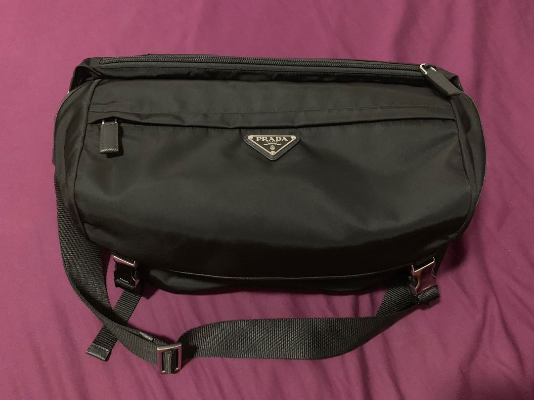 38b9aec710cd Prada Technical Fabric Bag, Luxury, Bags & Wallets, Handbags on ...