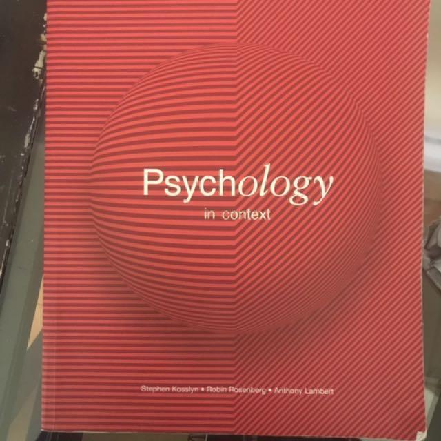 Psych 108 & 109 Textbook