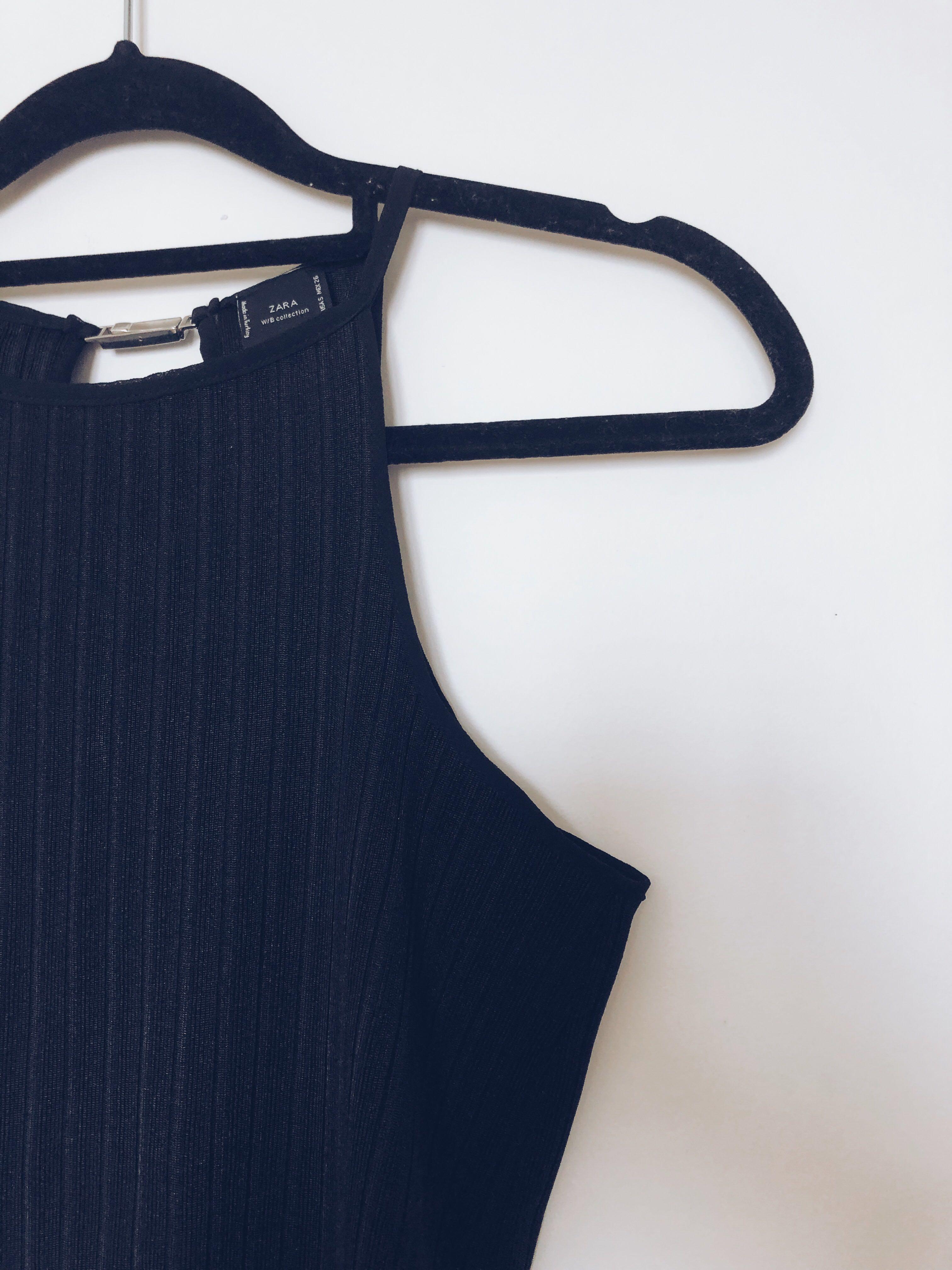 SALE] ZARA cropped tank top, Women's Fashion, Clothes, Tops