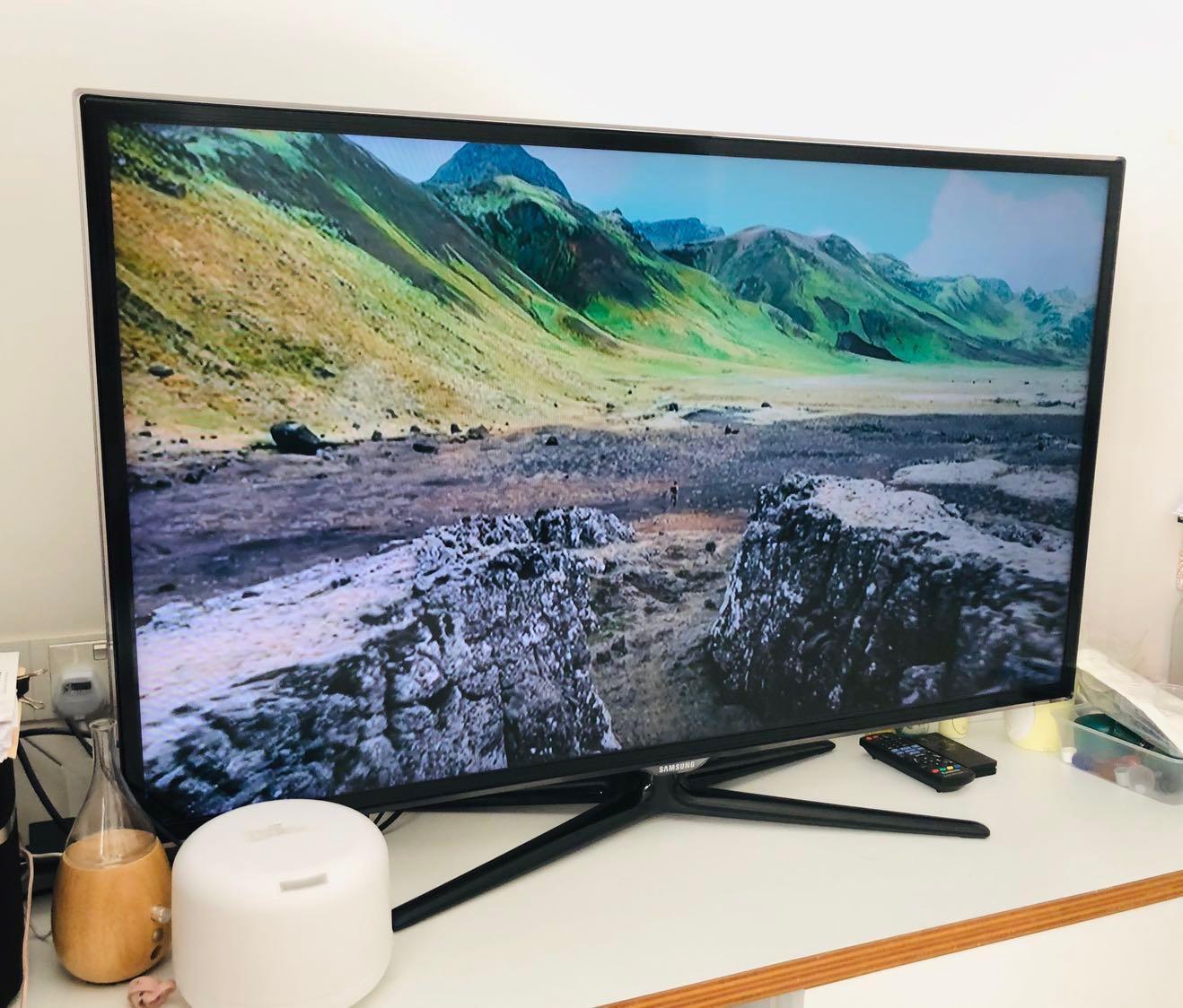 Nieuw Samsung 46 inch Smart TV, Home Appliances, TVs & Entertainment DF-98