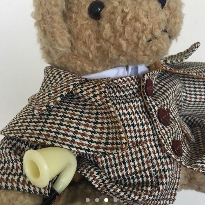 Sherlock Holmes Plushie
