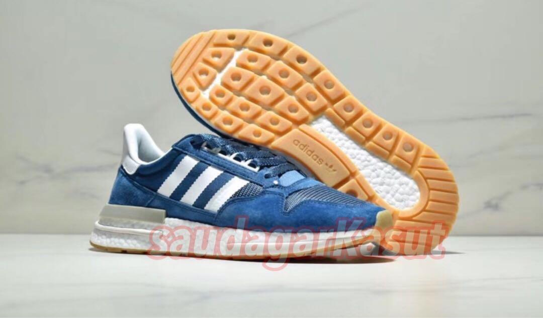 "quality design aa398 8cfb9 Sneakersnstuff ❌ ZX 500 RM ""Blue Night"" (premium 11), Fesyen"