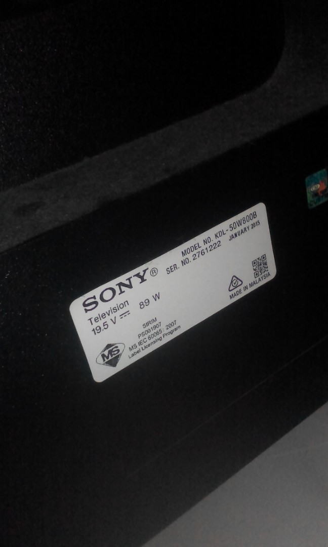 SONY BRAVIA SMART TV FULL HD 50Inch
