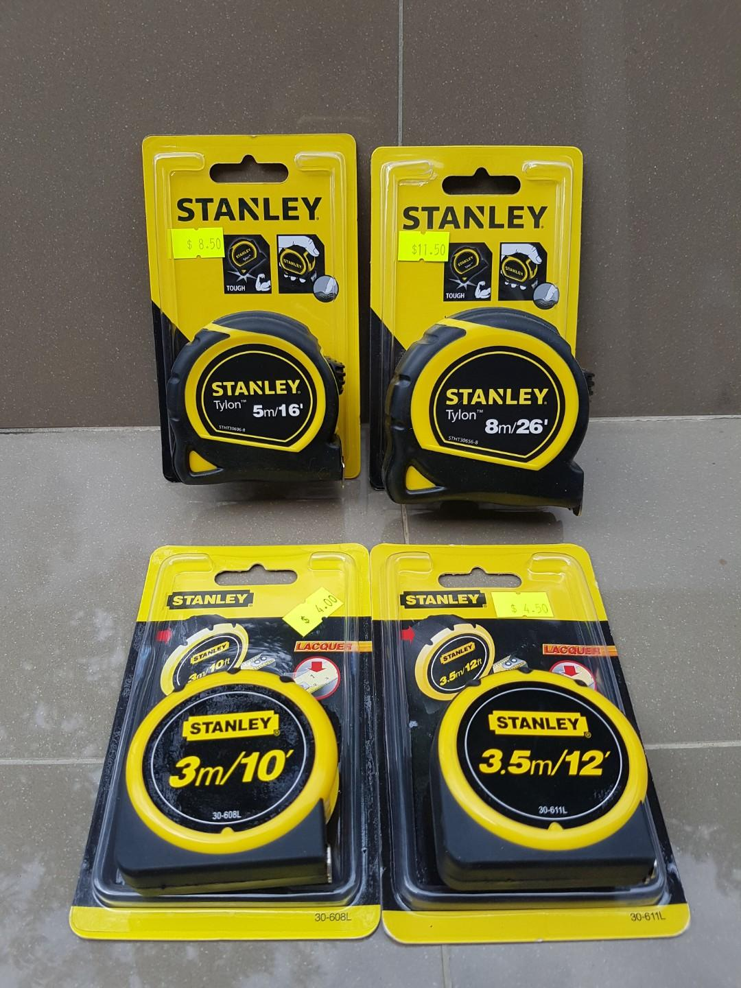 Stanley measuring tape, Design & Craft, Craft Supplies