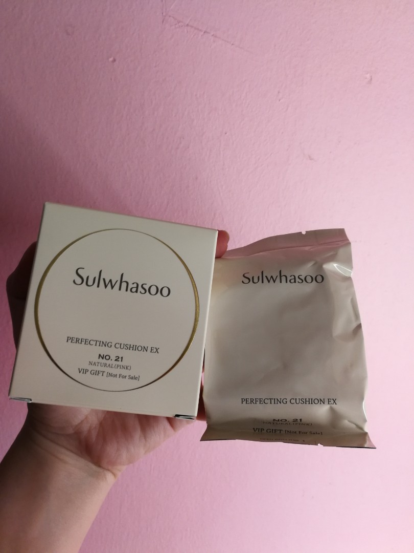 f1c02737ecb Sulwhasoo Perfecting Cushion EX travel size No. 21 ( Natural Pink )