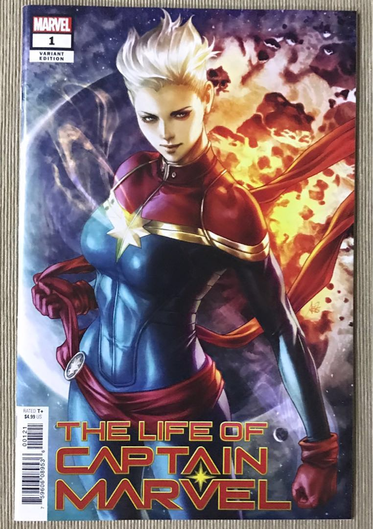 the life of captain marvel (complete) - marvel comics, books