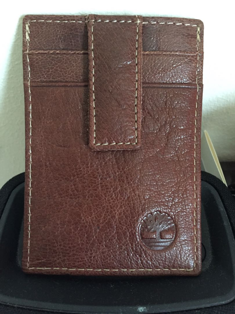 8fe34cfab96c8 Timberland Card and Money Clip wallet