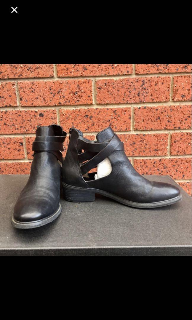 Tony Bianco Black Boots