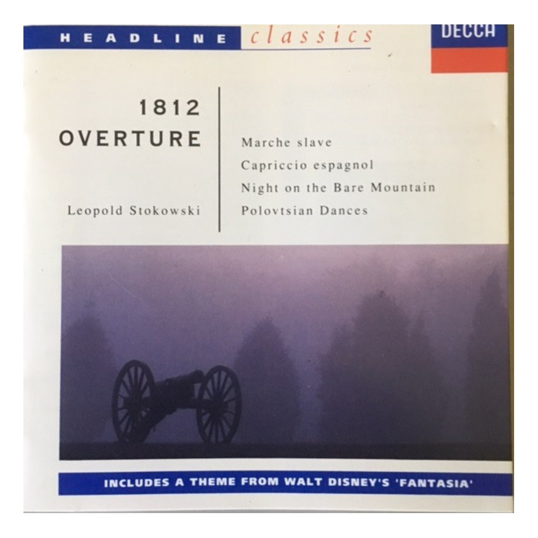 USED CD [1812 OVERTURE & OTHER RUSSIAN FAVOURITES] FOR SALE !!!