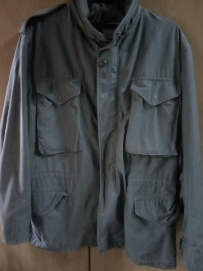 Vtg M65 Alpha Industries Scovill Zip