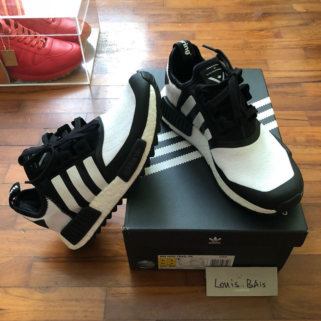 41a4ff3387ba WTS US8.5 Adidas NMD PK X White Mountaineering