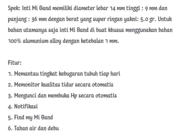 Xiaomi Mi Band 1 Anti Air & Debu - Lengkap - Masih Oke - Jarang Pakai #Cicaheum