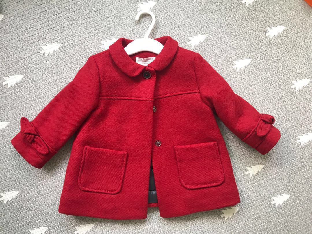 806d9e806fc6 Zara Baby Girl Wool Coat (price reduced 2 1 19)