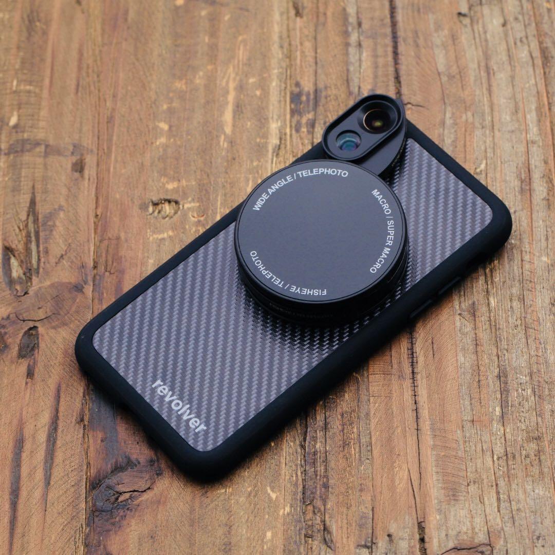 Ztylus Revolver M Series Lens Kit (Carbon Fibre Black) for