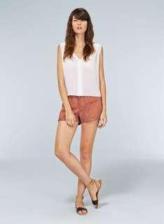 Wilfred paradis linen shorts