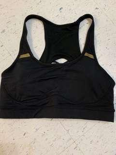 Lululemon black sports bra size 6