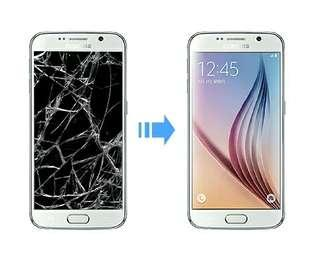 Samsung Touch/Lcd/Battery replacement/Change/Fix