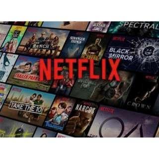 正版永久 Netflix UHD 4K 電影 高級會員終生訂閱