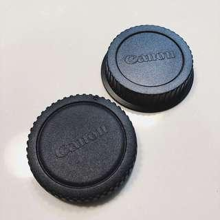 Lens Cap body and lens camera for Canon