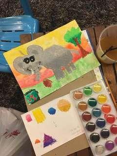 Fun art class for your kids