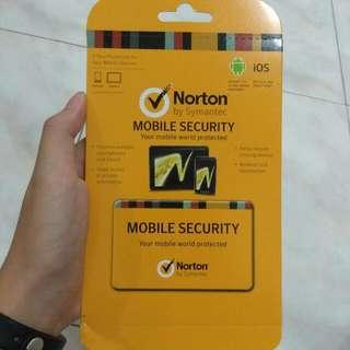 BRAND NEW Norton mobile security protection