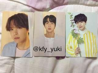BTS Love Yourself World Tour Mini Photocard