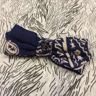 Vanities Skull Bow Tie Clip-on