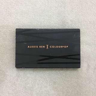 Alexis Ren x Colourpop Face Palette (Bronzer & Highlighter)