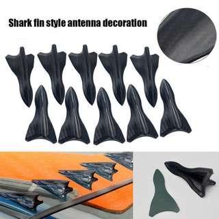 Universal Carbon Shark Fin Diffuser Vortex Generator for Car Roof