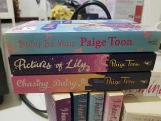Books by paige toon
