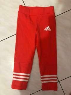 🚚 全新adidas小童褲5-6y 120cm