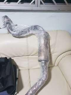 Volkswagen scirocco stock exhaust
