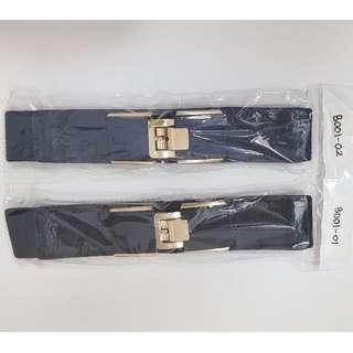 [Instock] Plus Size Elastic Stretchable Belt & Hook Belt