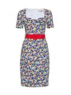 Review Miss Poppy Dress  Sz 8  new