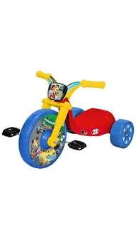 🚚 ~Ready Stocked~ Mickey and the Roadster Racers Disney Fly Wheel Ride-On Cruiser Tricycle Ride On Red/Blue/Yellow