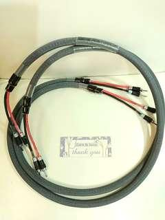 Rare hiend Swiss Symo Speaker cable.