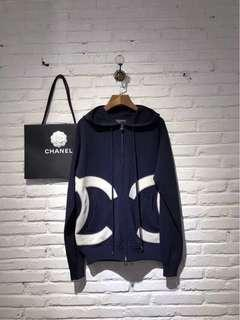 🚚 Chanel大雙C logo帽衫