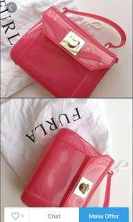 Furla jellybag (pink)