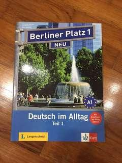 Berliner Platz German Textbook and Workbook with CD