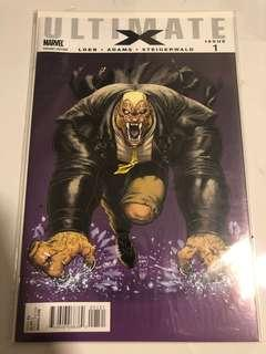 Ultimate X #1 (1:15 Villain Variant Cover) - 1st appearance of Jimmy Hudson
