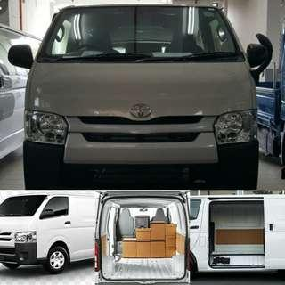 2018 Toyota Hiace for rent