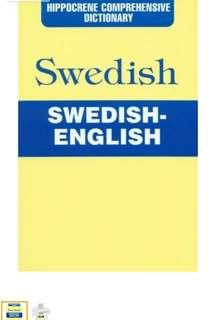Hippocrene Swedish English Dictionary