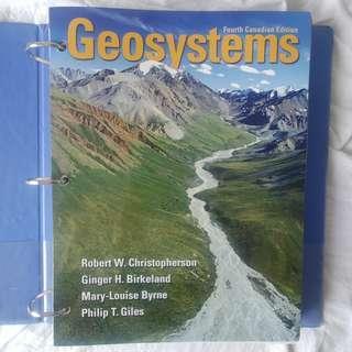 Ryerson GEO 131 Geosystems Textbook