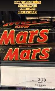 Ready stock 😋🍫 Soft Nought  MARS 100g