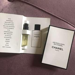 Chanel Paris vial