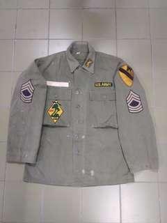 Vtg Army Jacket p44 us army hbt ,13start