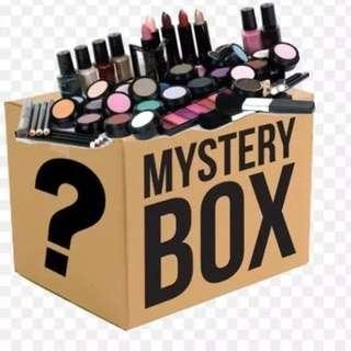 MYSTERY MAKEUP+SKIN CARE BOX.