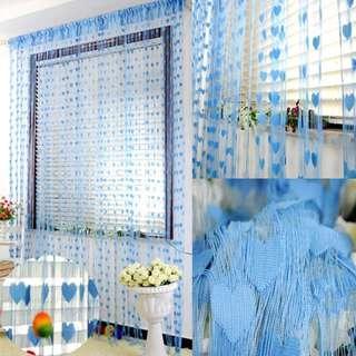 Tirai Benang Motif - Tirai Rumah - Tirai Dekorasi