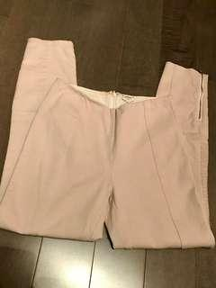 Wilfred high rise ivory pants