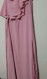 Old Rose Long Dress